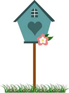 Bing free clipart houses image black and white stock Birdhouse Clip Art - Bing images | Quilting | Bird houses, Birds ... image black and white stock