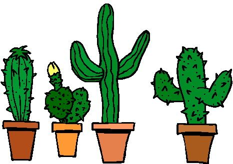 Bing free clipart spine vector transparent download Free Cactus Clip Art, Download Free Clip Art, Free Clip Art on ... vector transparent download