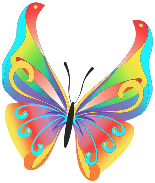 Bing free clipart spine vector free stock BUTTERFLY CLIP ART | Animals | Butterfly clip art, Butterfly ... vector free stock