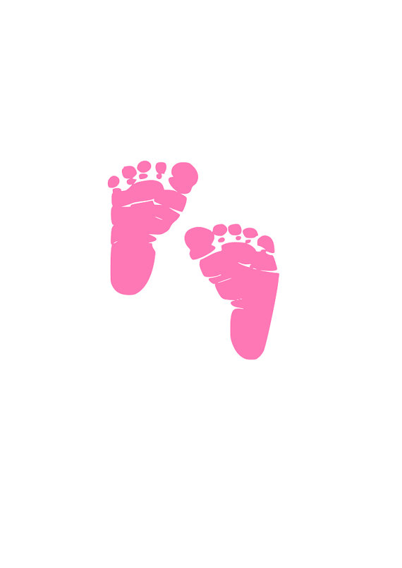 Bing new baby footprints clipart banner freeuse Baby Feet SVG cutting file for Cricut and Silhouette by RnBGifts ... banner freeuse