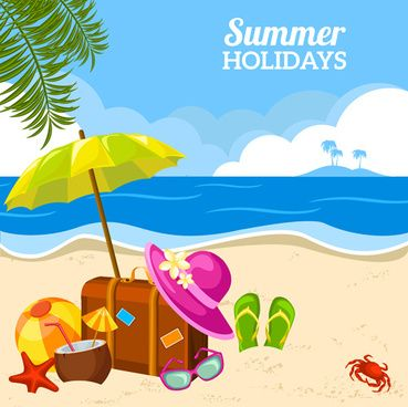 Bing vacation clipart picture freeuse library Found on Bing from 101clipart.com   Coat of arms   Beach posters ... picture freeuse library