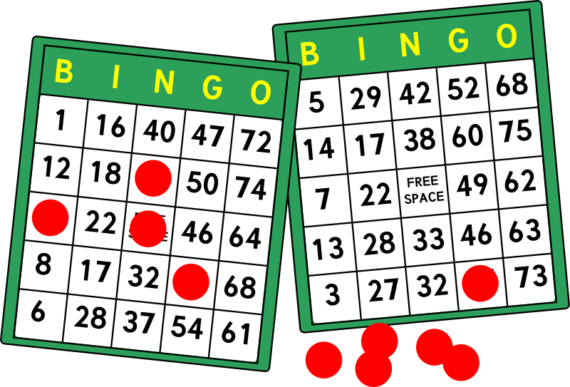 Bingo card clipart free banner library stock Free Clipart: Bingo Cards | mazeo banner library stock