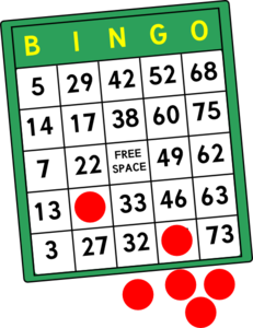 Bingo card clipart free clipart black and white download Bingo Cards Clip Art at Clker.com - vector clip art online, royalty ... clipart black and white download