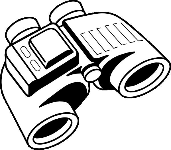 Binoccular clipart clipart royalty free library Binoculars Clip Art at Clker.com - vector clip art online, royalty ... clipart royalty free library