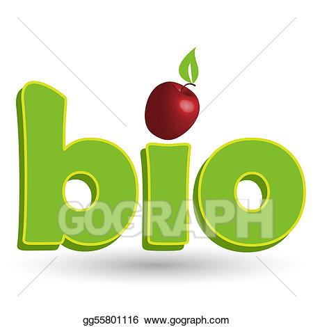 Bio clipart clipart download Vector Illustration - Bio. EPS Clipart gg55801116 - GoGraph clipart download