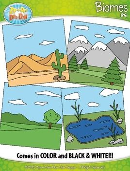 Ecosystems clipart