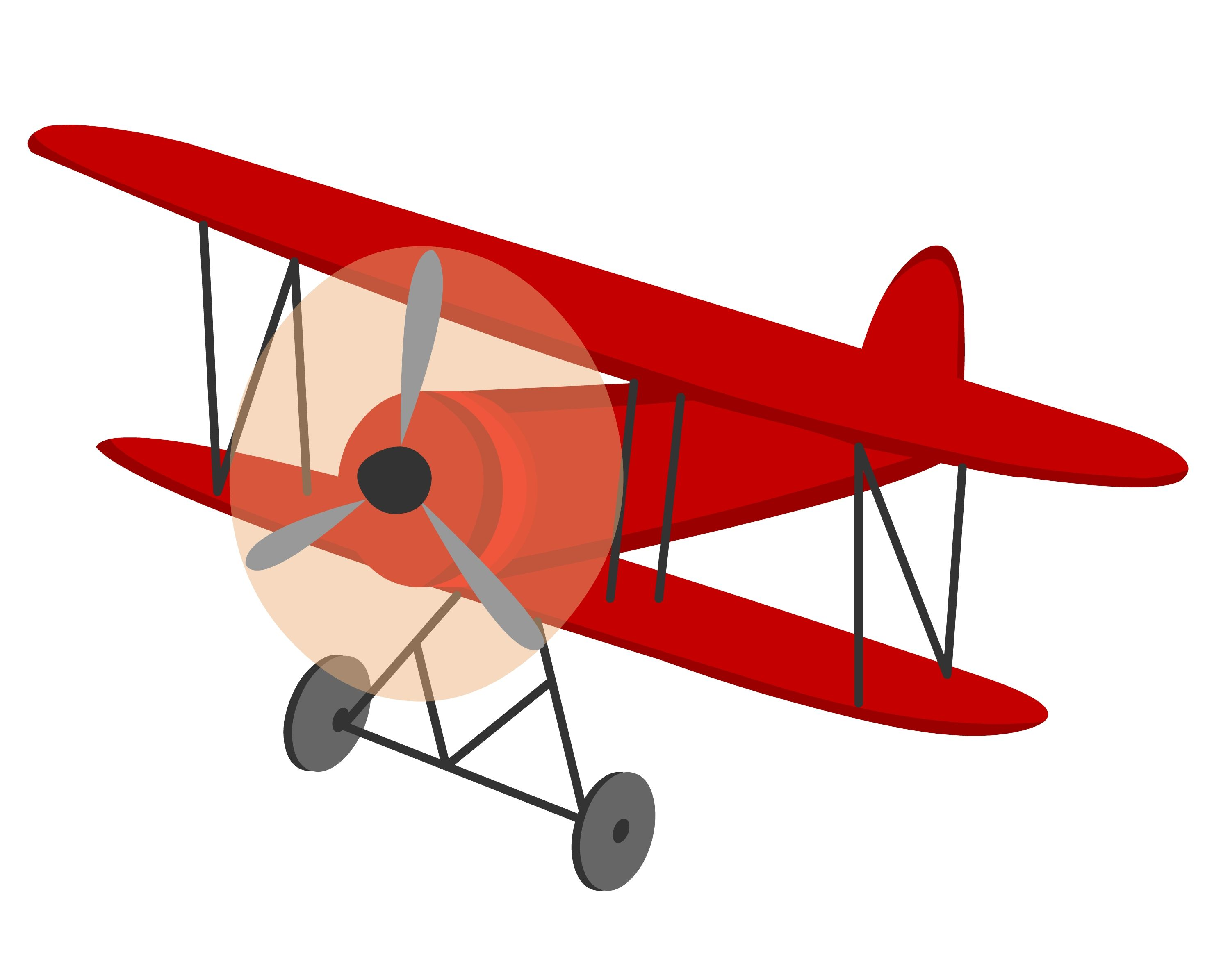 Skywriting plane clipart banner free stock Vintage Biplane Clipart Vintage biplane clipart | The men in my life ... banner free stock