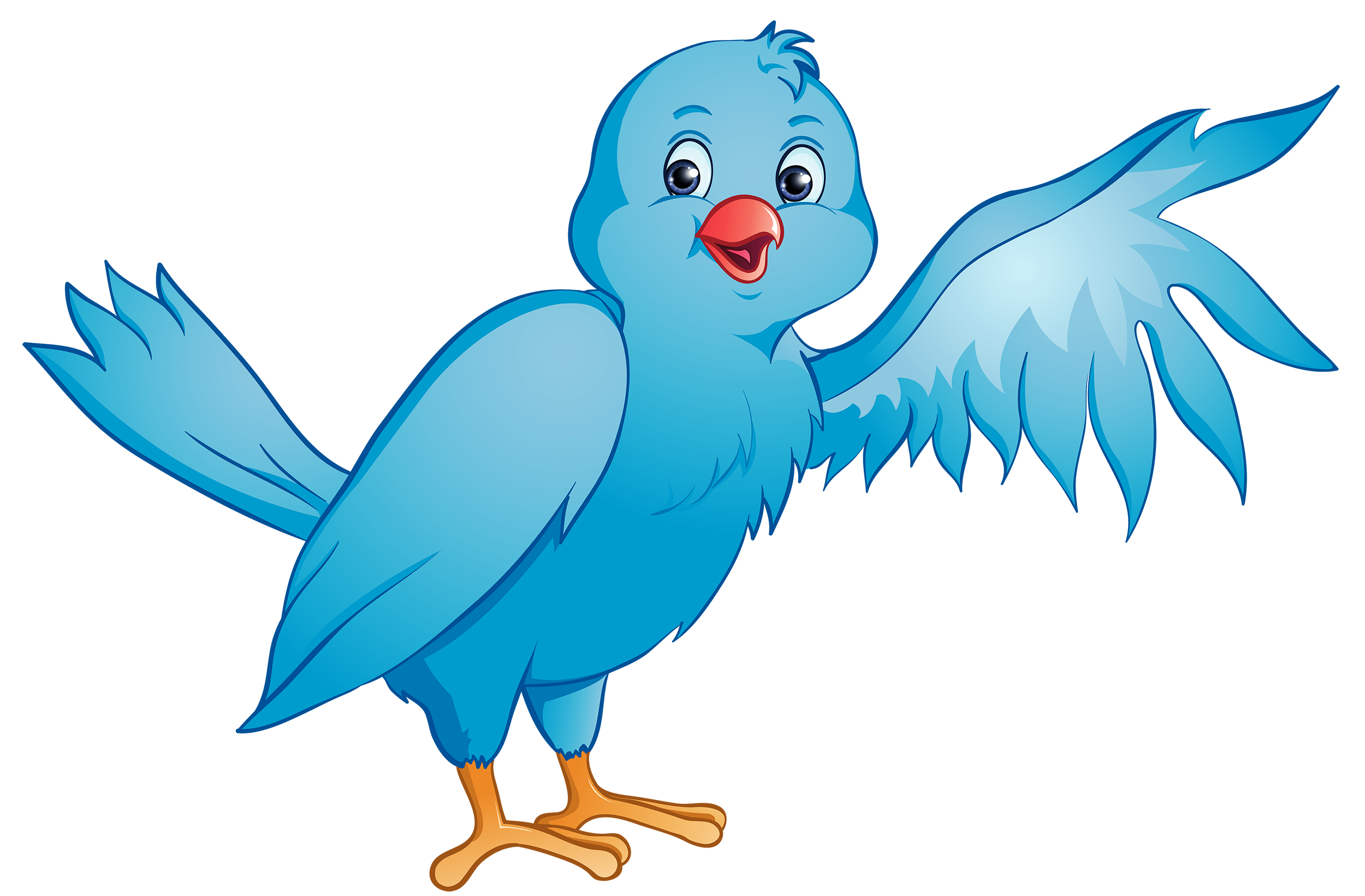 Bird and flower clipart vector library download Blue Bird PNG Clipart - Best WEB Clipart vector library download