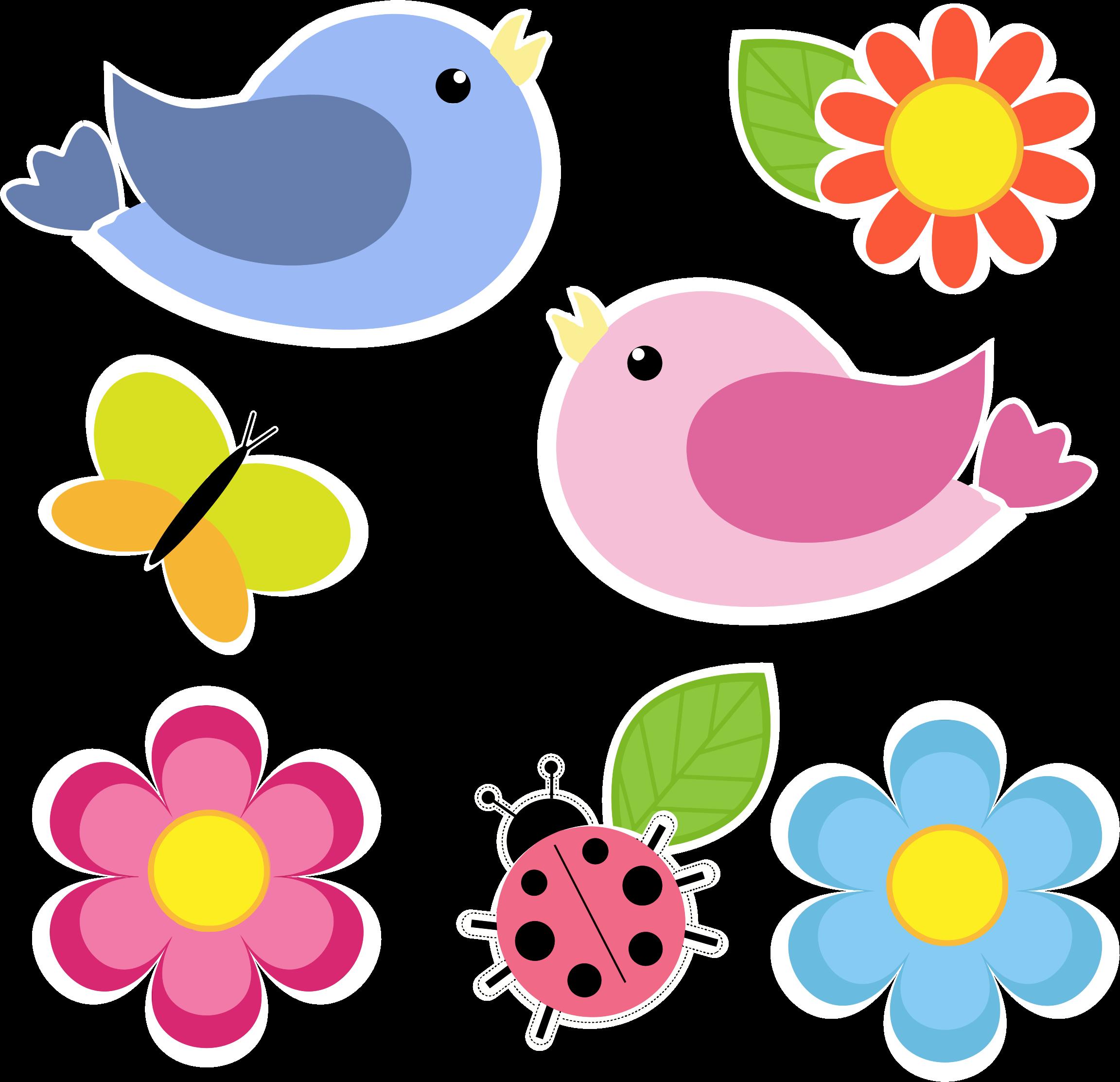 Bird background clipart