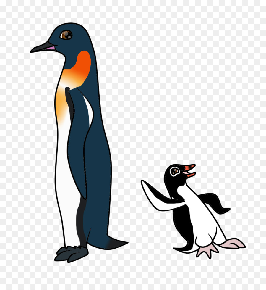 Bird beaks and feet clipart vector library library Penguin Cartoon png download - 820*974 - Free Transparent Penguin ... vector library library