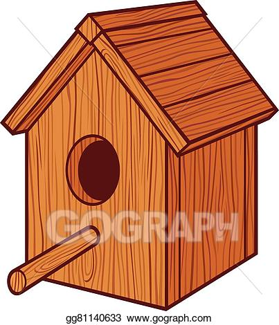 Bird box clipart graphic royalty free EPS Illustration - Bird house. Vector Clipart gg81140633 - GoGraph graphic royalty free