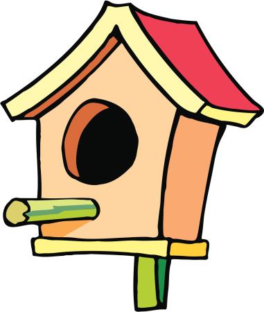 Bird box clipart graphic transparent download Birdhouse Clipart   Free download best Birdhouse Clipart on ... graphic transparent download