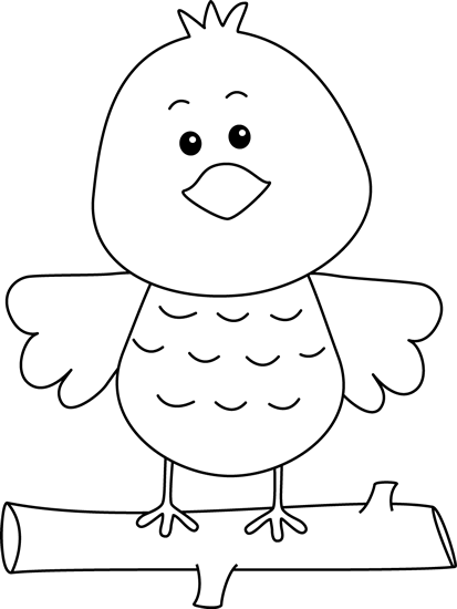 Bird carrying worm clipart black and white clip art royalty free Bird Clip Art - Bird Images clip art royalty free