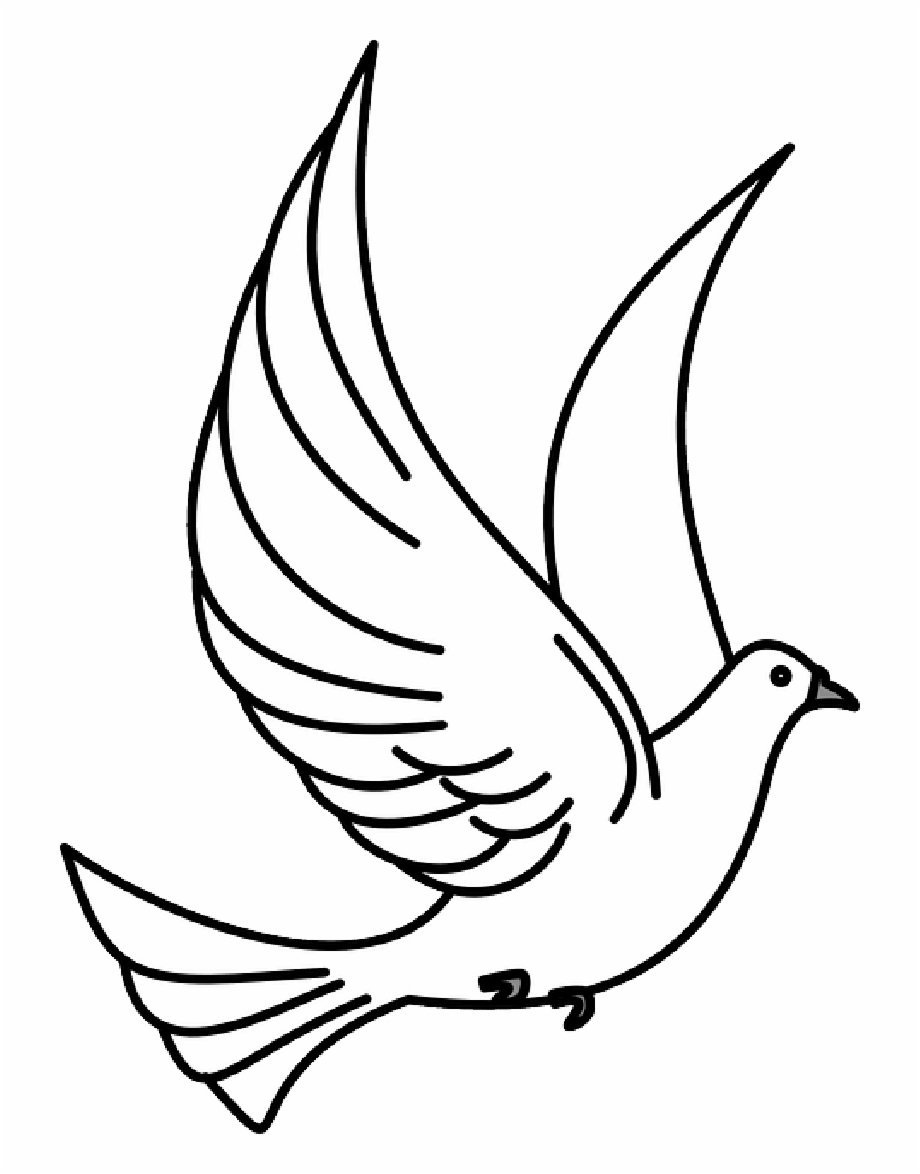 Bird clipart black and white free vector library Bird Flying Clipart - Flying Bird Clipart Black And White Free PNG ... vector library