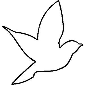 Outline of birds clipart picture Pinterest picture