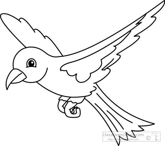 Outline of birds clipart clip art freeuse 67+ Bird Clipart Black And White | ClipartLook clip art freeuse