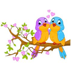 Bird cliparts graphic royalty free Cute Love Birds Cartoon Clip Art Images.All Bird Images Are Free ... graphic royalty free
