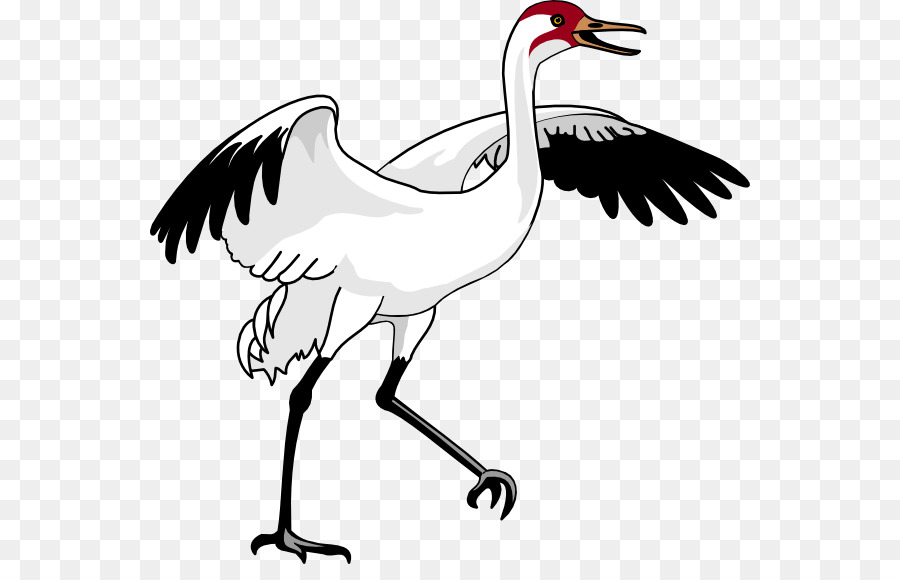 Crane bird clipart picture royalty free library Bird Line Art clipart - Bird, Illustration, Wing, transparent clip art picture royalty free library