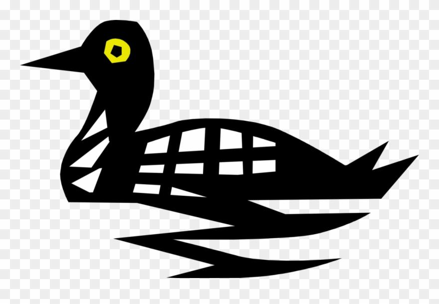 Bird diving clipart stock Vector Illustration Of Diving Aquatic Loon Bird Clipart (#1936698 ... stock