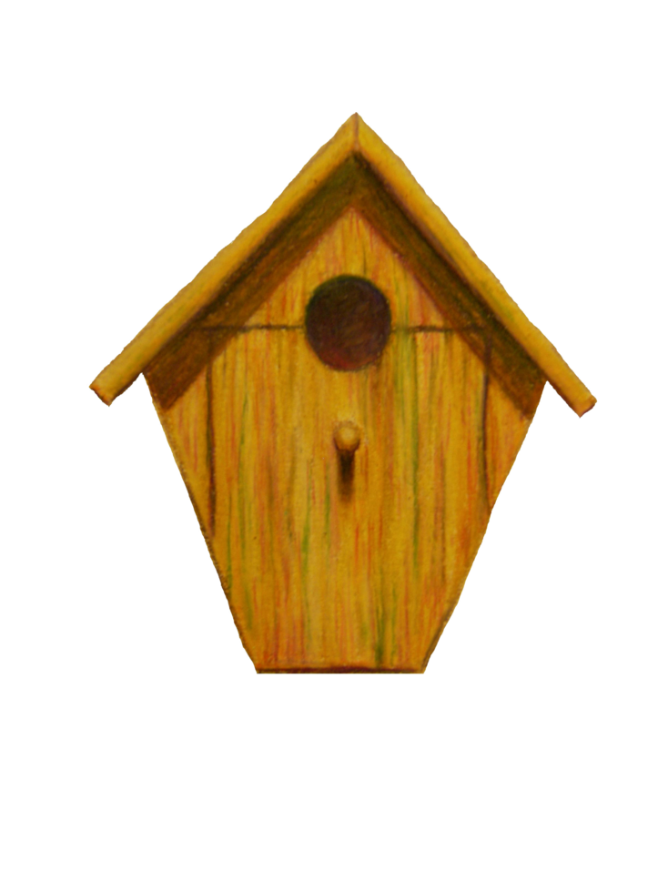 Bird house clipart graphic library library Birdhouse Drawing Images at GetDrawings.com | Free for personal use ... graphic library library