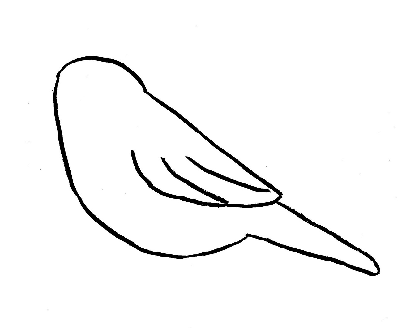 Bird in a curve clipart png library stock Drawn Bird small - Free Clipart on Gotravelaz.com png library stock