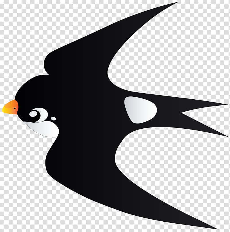 Bird in a curve clipart clipart library download Sparrow illustration, Bird Penguin , Swallow Bird Cartoon ... clipart library download
