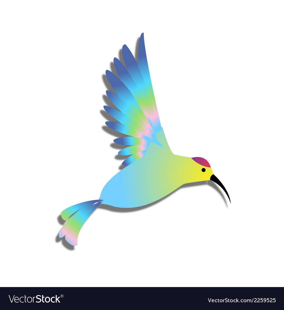 Bird logo clipart vector royalty free Bird clipart logo colorful vector royalty free
