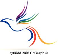 Bird logo clipart png download Flying Bird Clip Art - Royalty Free - GoGraph png download