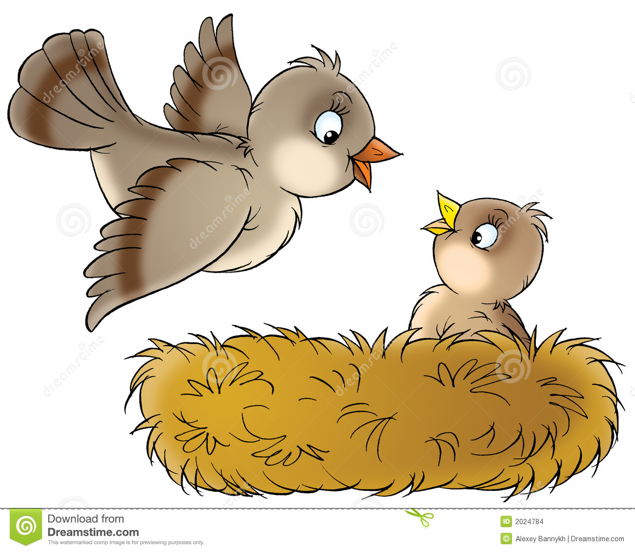 101+ Bird Nest Clipart | ClipartLook picture free