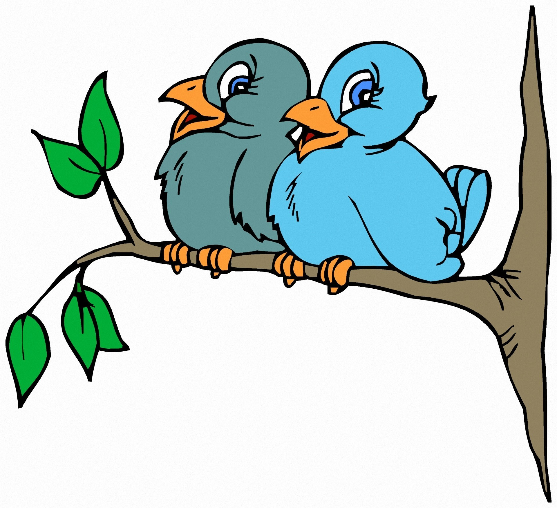 Bird on a tree clipart jpg library library Clipart Of Birds In Trees | Clip Art jpg library library