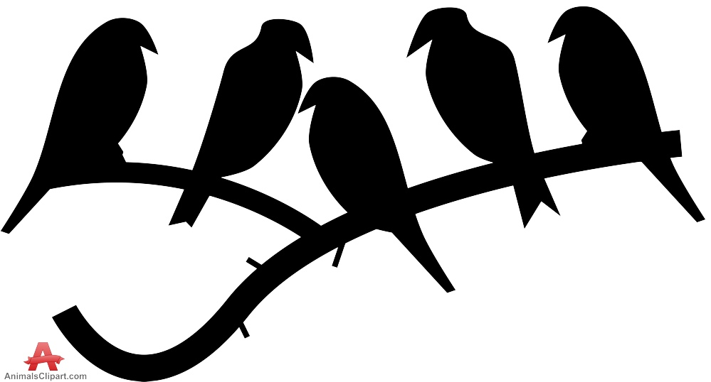 Bird on branch silhouette clipart free graphic freeuse stock Bird On Branch Clip Art | Free download best Bird On Branch Clip Art ... graphic freeuse stock