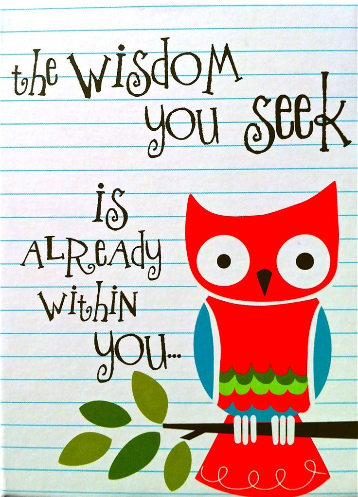 Wise Owl Quotes Sayings | wise owl | Word! | Give A HOOT! | Owl ... jpg freeuse library