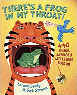 There\'s a Frog in My Throat!: 440 Animal Sayings A Little Bird Told ... banner black and white download