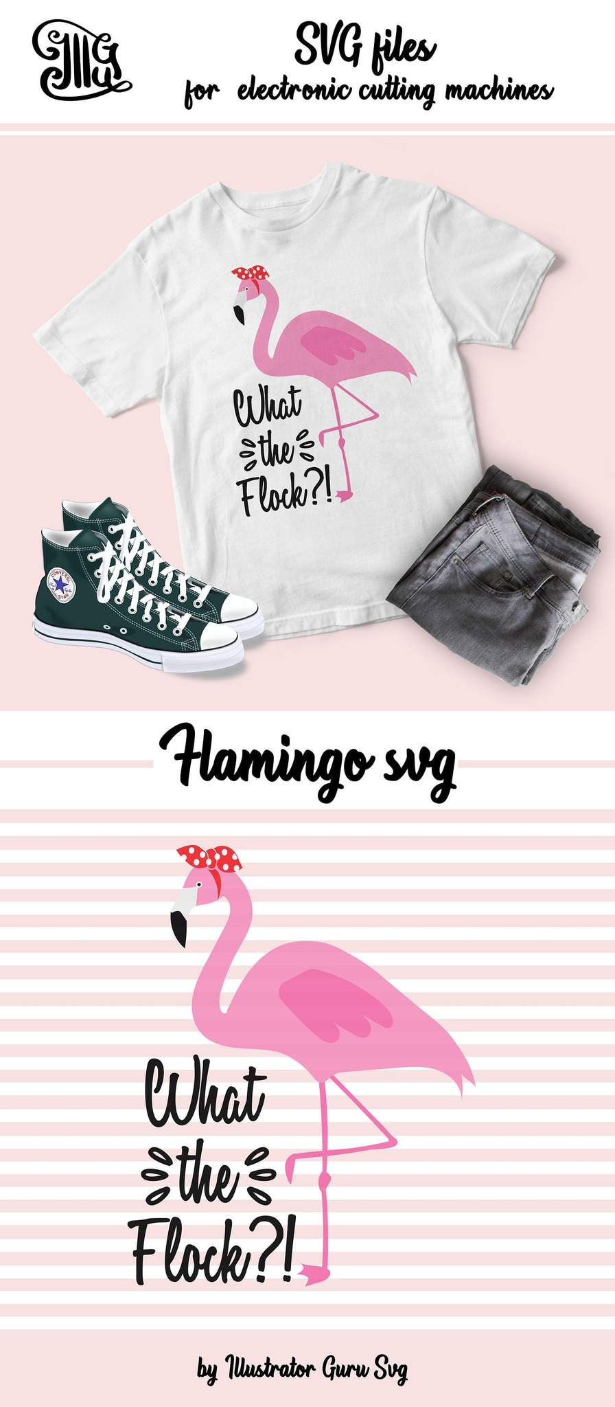 Bird sayings clipart free stock What the flock svg, flamingo SVG, flamingo clipart, summer svg ... free stock