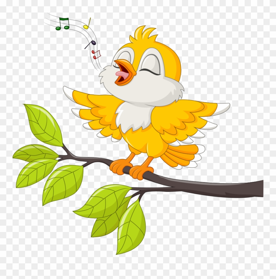 Birds singing clipart clip art transparent stock Bird Singing Stock Illustration Illustration - Singing Bird Clipart ... clip art transparent stock