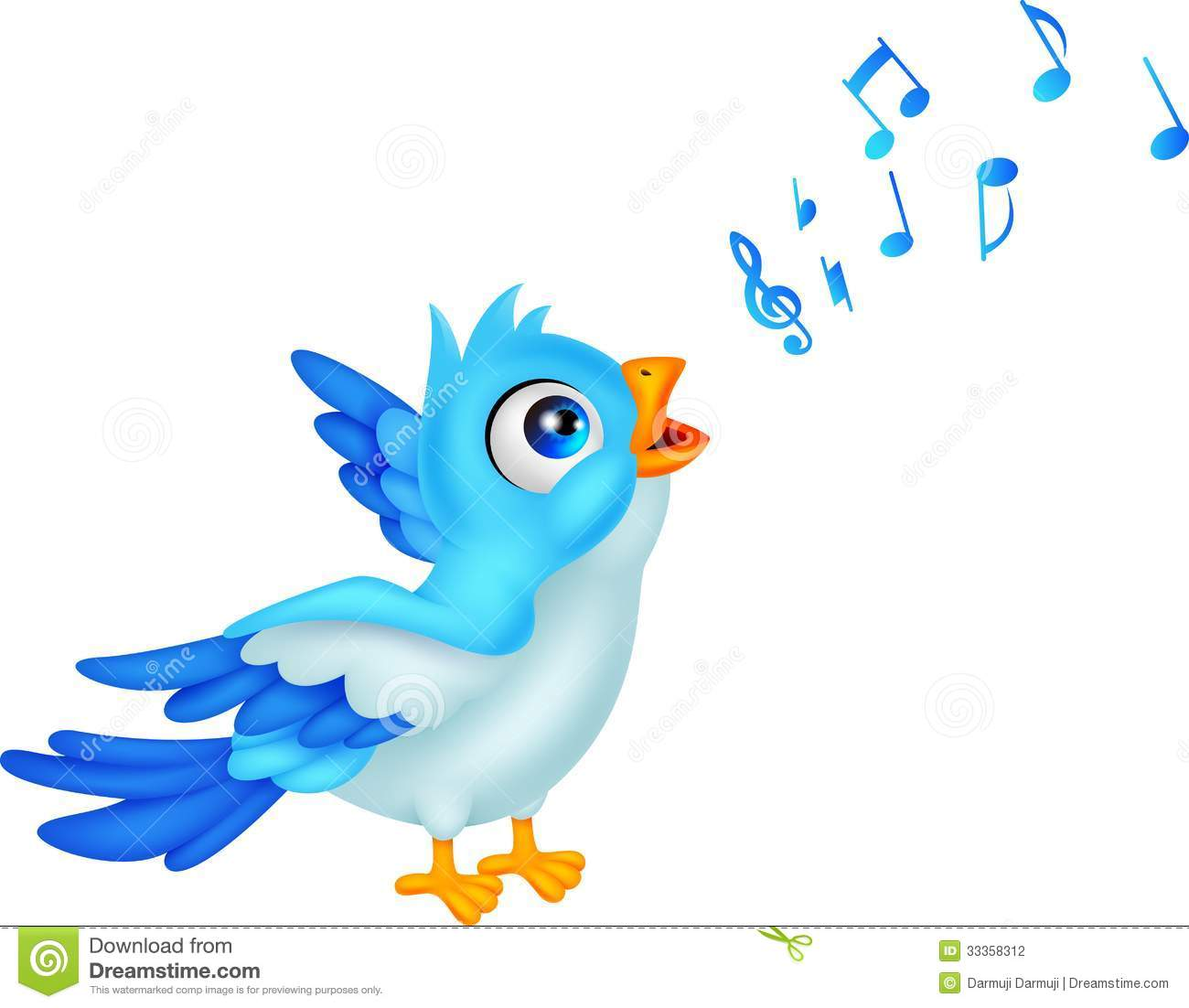 Bird Singing Clipart | Free download best Bird Singing Clipart on ... jpg royalty free stock