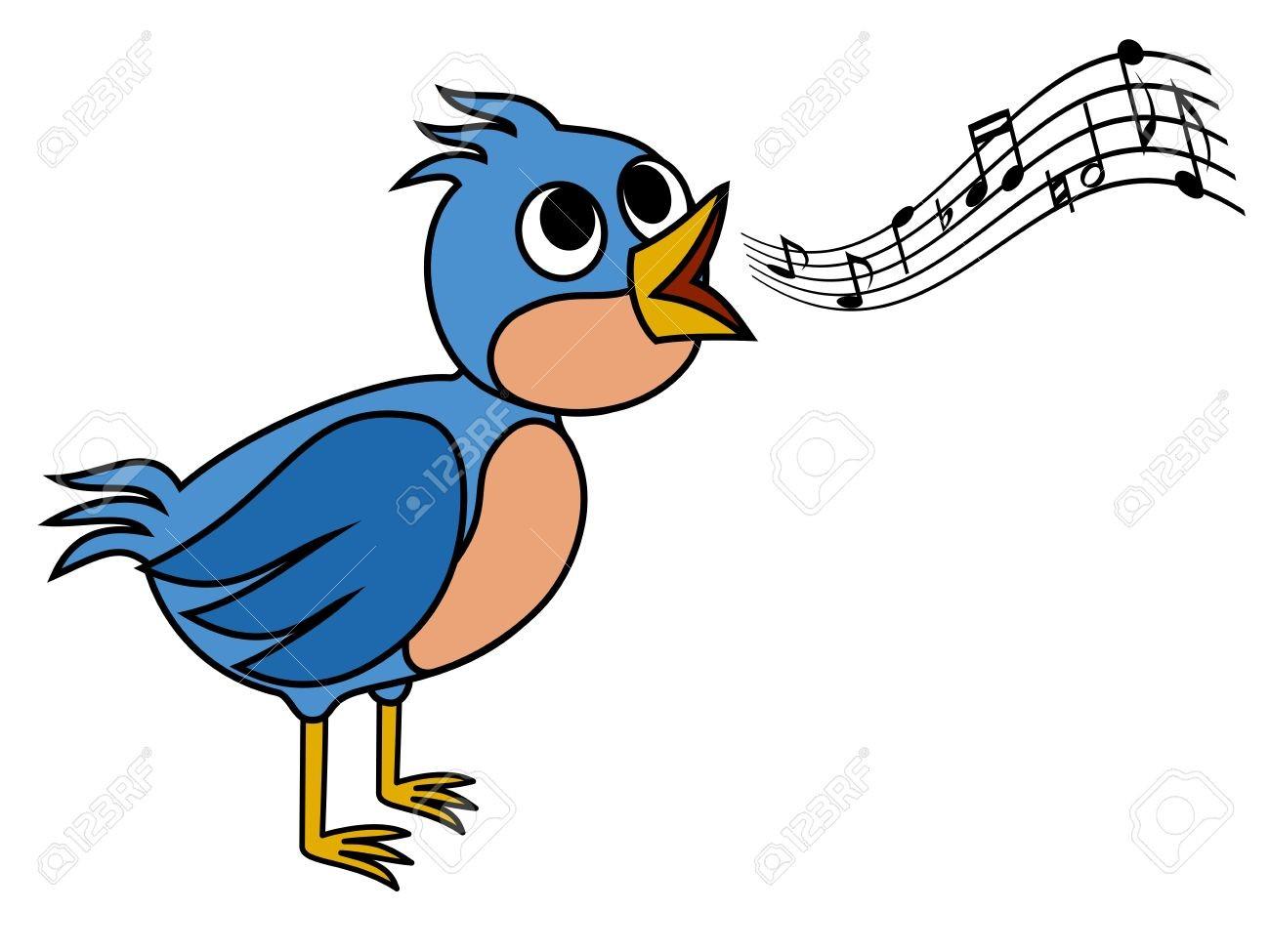 Bird singing clipart vector transparent library With Bird Singing Clipart 26978577 | Clip Art vector transparent library