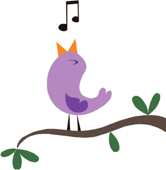 Bird singing clipart jpg transparent library Free A Bird Singing, Download Free Clip Art, Free Clip Art on ... jpg transparent library