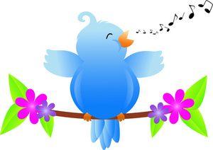 Song bird clipart