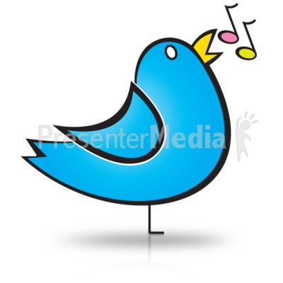 Bird Song Notes - Presentation Clipart - Great Clipart for ... banner black and white download