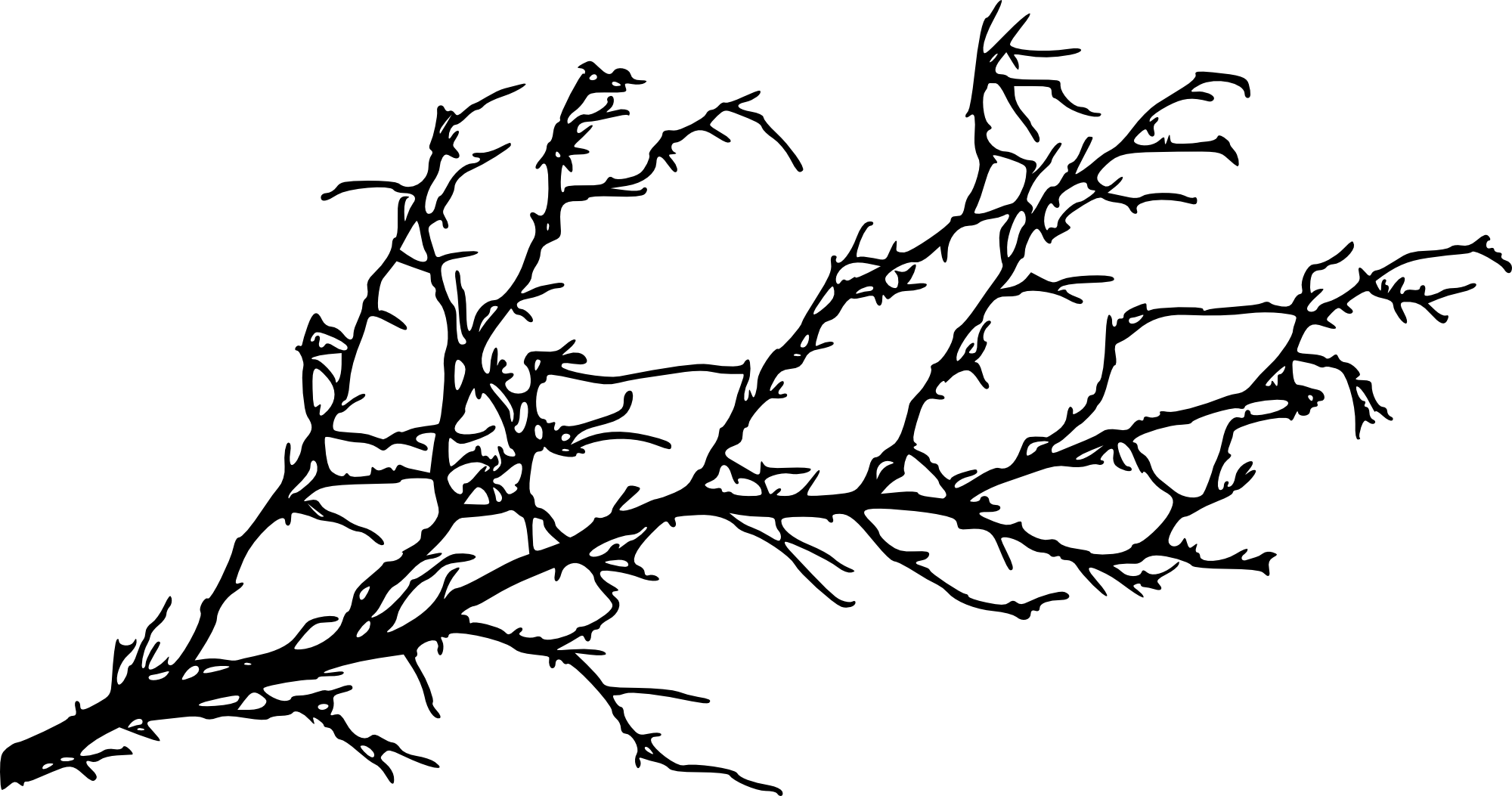 Clipart tree branch silhouette image library download Silhouette Tree With Birds at GetDrawings.com | Free for personal ... image library download