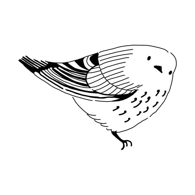 Bird Watching Funny Novelty Cartoon Hand Drawing clip art free library