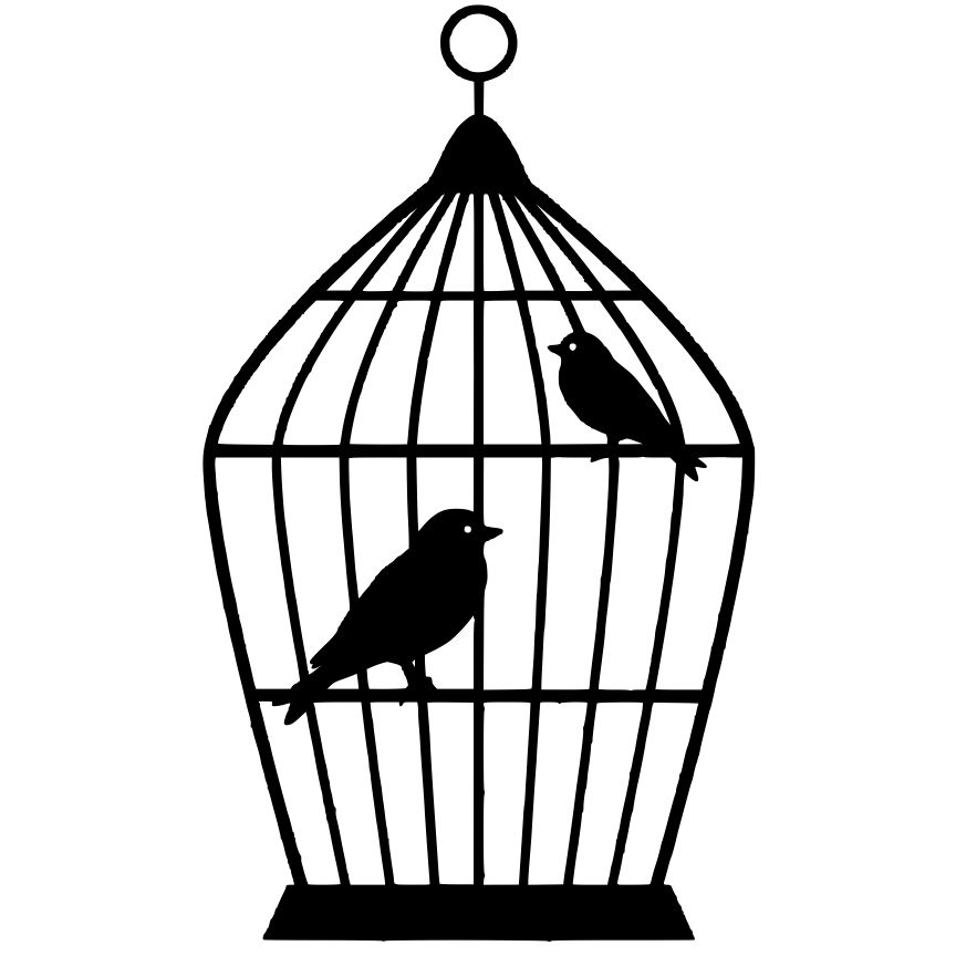 Birdcage silhouette clipart svg free download Free Bird Cage Silhouette, Download Free Clip Art, Free Clip Art on ... svg free download