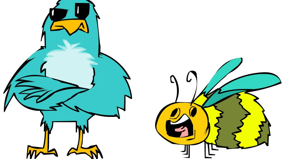 Birds and bees clipart 3 » Clipart Portal jpg free stock