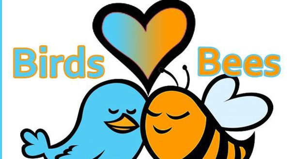 The Birds & The Bees banner royalty free library