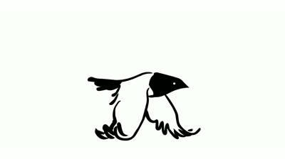 Birds flying video clipart graphic free download Free Bird Animation, Download Free Clip Art, Free Clip Art on ... graphic free download