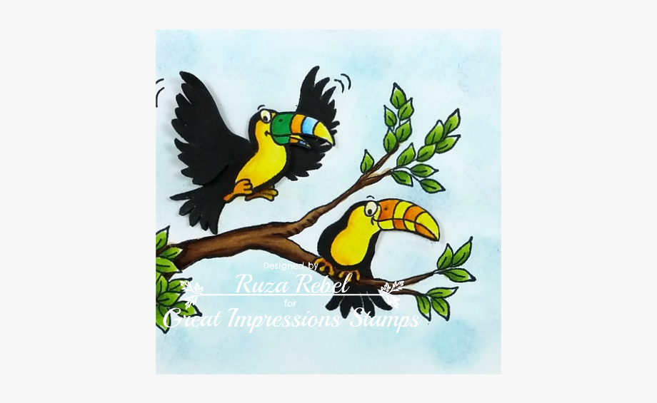 Birds good morning clipart svg library library Toucan Clipart Rare Bird - Good Morning Rare Bird , Transparent ... svg library library
