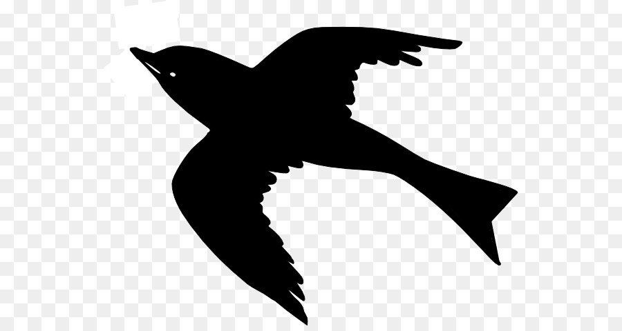 Birds in flight transparency clipart svg free Bird Silhouette png download - 600*472 - Free Transparent Bird png ... svg free