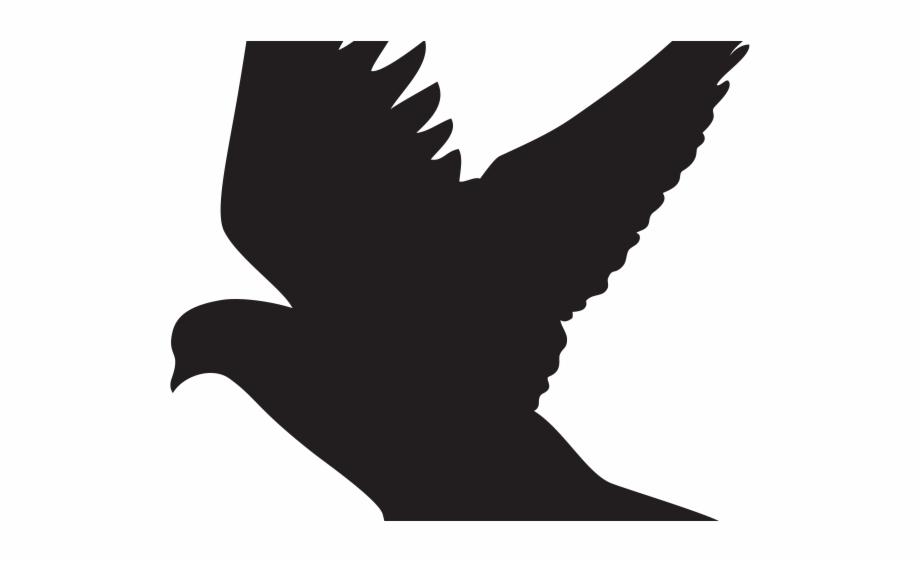 Birds of prey free clipart clip royalty free download Bird Of Prey Clipart Fly Bird - Dove Silhouette Clip Art Free PNG ... clip royalty free download