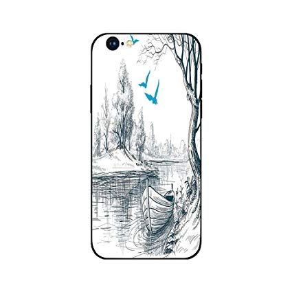 Birds on cell phone clipart clipart free stock Amazon.com: Phone Case Compatible with iphone6 iphone6s mobile phone ... clipart free stock